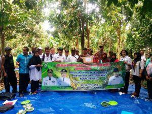 TPHP Bungo Adakan Sosialisasi Gerakan Pengendalian Penyakit Mati Merangas pada Tanaman Duku