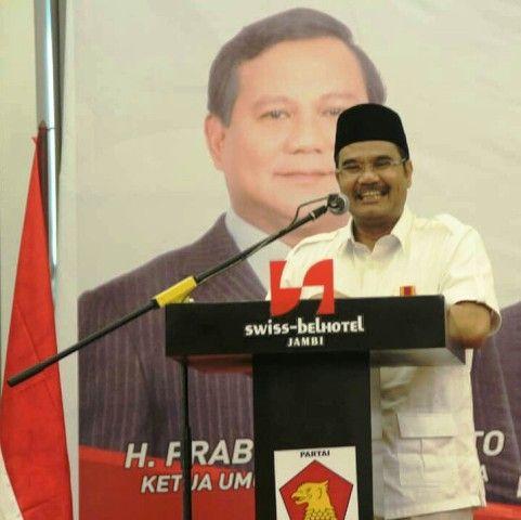 Sering Diserang Lawan Politik, SAH Minta Kader Gerindra Tahan Diri dan Jaga Kekompakan