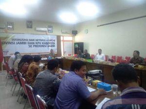 Komisioner KPU Provinsi Jambi Untuk Pertama Kalinya Wajib Laporkan Harta Kekayaan