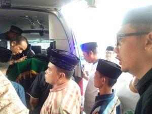 Jenazah Fattah Dishalatkan di Mesjid Muhajirin Muara Bulian