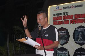 Mengaji Puisi Hendry Nursal, Semangat Komunitas Seni Terus Berkarya di Jambi
