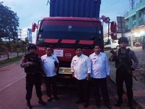 Tiba di Paal 10 Kota Jambi, Surat Suara Kerinci dan Sungaipenuh Dibongkar Muat ke Mobil Kecil