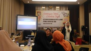 Ikuti Bimtek, Relawan Demokrasi Kota Jambi Diajarkan Materi Kepemiluan untuk  Sosialisasi