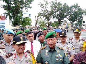 Di Mapolda Jambi, Danrem 042/Gapu Tegaskan Sinergitas TNI/Polri Bukan Hanya Kata Kata