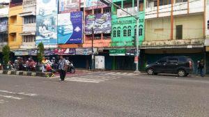 Sejumlah Ruko Tutup, Begini Suasana Pasar di Kota Jambi di Hari Imlek