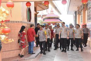 Kapolda Jambi Pantau Perayaan Imlek di Kota Jambi