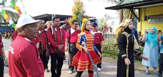 Kabid SMA Dinas Pendidikan Provinsi Jambi Abdul Mukti membuka Gebyar SMA Swasta