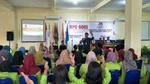 Ratusan Mahasiswa Universitas Adiwangsa Deklarasi Tolak Golput