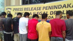 Tangkap 10 Pelaku Illegal Drilling, Polda Amankan 20.000 Liter Minyak Mentah