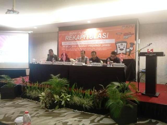 Perbedaan Data, KPU Sebut Kabupaten Pleno Dengan Data Manual