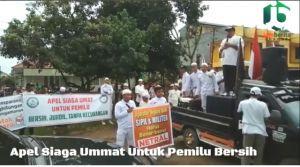 VIDEO: Apel Siaga Umat di Kantor KPU Provinsi Jambi