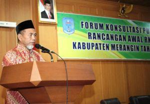 Wabup Buka Acara Forum Konsultasi Publik RKPD 2020