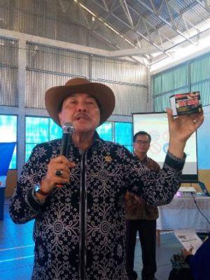 Zulfikar Achmad Minta Pemda Bungo Intens Laporkan Jalan Nasional yang Rusak ke Menteri PUPR