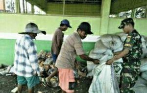 Babinsa Kebon IX Gencar Sosialisasi Ajak Warga Manfaatkan Sampah Organik