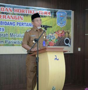 Wabup Buka Forum OPD Bidang Pertanian