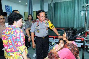 Kapolda Jambi Sambut Cahaya Ilahi Diduga Terkena Tumor, Kini Sudah Dirawat di RS Bhayangkara