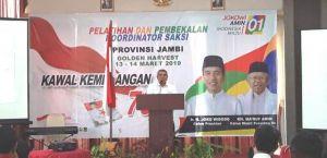 Saksi Jokowi-Ma'ruf Dilatih, Agus Roni: Teruslah Bergerak, Ini Adalah Syiar Kebangsaan