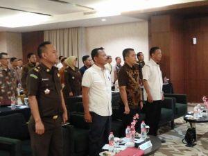 Samakan Persepsi Tahapan Pemilu 2019, Puluhan Peserta dari Polda Ikuti Rakor Sentra Gakkumdu