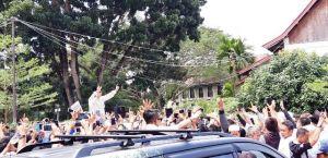 Prabowo Mendadak Stop Pidatonya di Hadapan Masyarakat Jambi Karena Ini