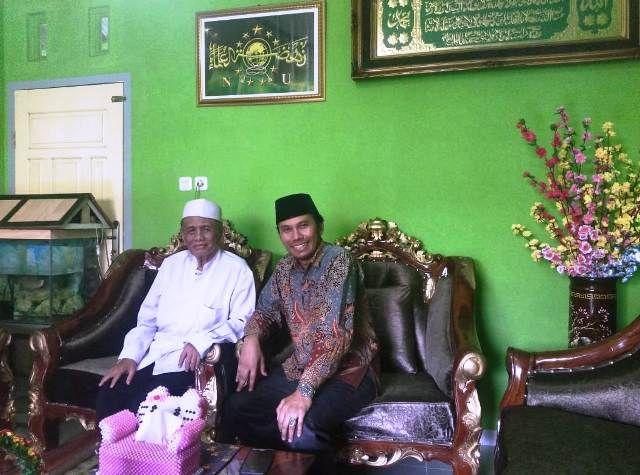 Edi Purwanto bersama KH Aminullah