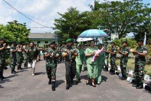 Di Hadapan Prajurit Yonif 142/KJ, Danrem 042/Gapu Minta jaga Netralitas di Pemilu 2019