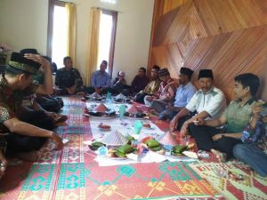Satgas TMMD 0417/Kerinci Hadiri Syukuran Aqikah Anak Warga Sungai Ning