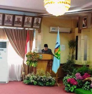 Wako AJB Sampaikan LKPJ 2018