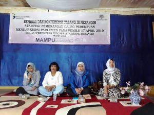 Hadiri Seminar dan Konfrensi KPI di Merangin, Pit Arzuna: Perempuan Harus Solid