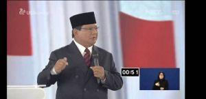 Kalau Sudah Pakai Tehnologi, Prabowo: Ngga Perlu Banyak Kartu