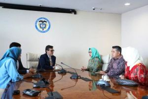 Jalin Kemitraan, Wali Kota Fasha Adakan Pertemuan dengan Wali Kota Kolombia