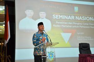 Perjuangkan Gelar Pahlawan Nasional untuk Raden Mattahier, Pemkot Gelar Seminar Nasional