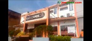 VIDEO: Kondisi Kantor Pos Muara Bungo Pasca Atap Ambruk Pasca Angin Kencang