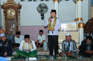 Gubernur Peringati Isra Mikraj di Merangin, Fachrori: Isra Miraj Titik Tolak Umat Islam