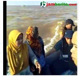 Kecelakaan Pompong di Perairan Kampung Laut, 5 Penumpang Selamat