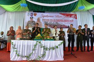 Wali Kota Jambi Pimpin Upacara HUT ke-69 Satpol PP dan HUT ke-57 Satlinmas