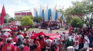 Hadapi Masa Tenang Besok, Edi Purwanto Bai'at Saksi PDI Perjuangan Kawal Pemilu 17 April