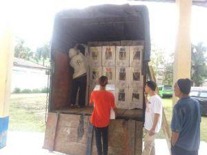 Logistik Kembali Didistribusikan, KPU Sebut Tidak Ada Lagi Kekurangan
