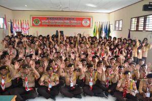 Diksar I Satgas Pramuka Peduli Kwarcab Batanghari Ciptakan Pandu Tanggap Bencana