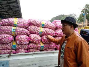 Gelar Operasi Pasar, Harga Bawang Putih/Kg di Jambi Sempat Menyentuh Rp43 ribu