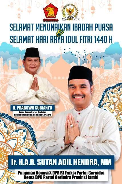 Sampaikan Ucapan Selamat Ibadah Puasa Sah Ajak Masyarakat Sambut Ramadhan Dengan Gembira