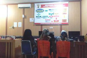 Lontarkan Hinaan dan Serang wartawan Pakai Palu, Istri Oknum Kades Dilaporkan Polisi
