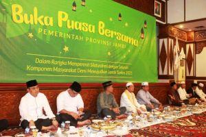 Buka Bersama dengan Unsur Forkopimda, Gubernur Harapkan Ramadan Beri Kesejukan