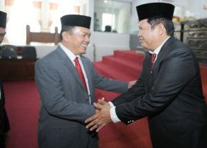 Syafruddin Resmi Jabat Wakil Ketua, Ini Kata Bupati Al Haris