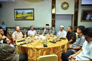 Raker di Jambi, Fasha Undang Komisi Informasi Buka Puasa Bersama