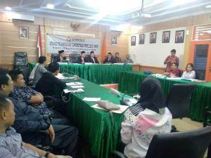Komisioner KPU Provinsi Tak Hadir di Sidang PAN Utus Staf Karena Masih Di Jakarta