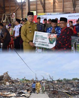 Wali Kota Fasha Pimpin Misi Kemanusiaan Kota Jambi di Desa Pangkal Duri