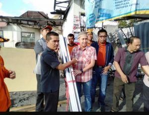 Ketua DPRD Kota Sungaipenuh Peduli Korban Kebakaran