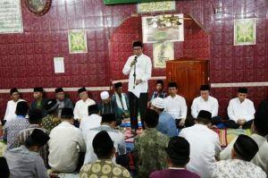 Tim Safari Ramadan Pemkot Sungai Penuh Sambangi Masjid Baitul Makmur Kumun