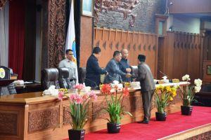 DPRD Provinsi Sahkan Perubahan Peraturan Tatib Pemilihan Cawagub Jambi