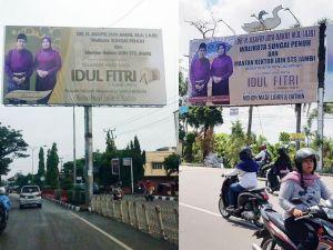 Digadang Maju di Pilgub Jambi 2020, Billboard AJB Mulai Beredar di Sejumlah Kabupaten/Kota